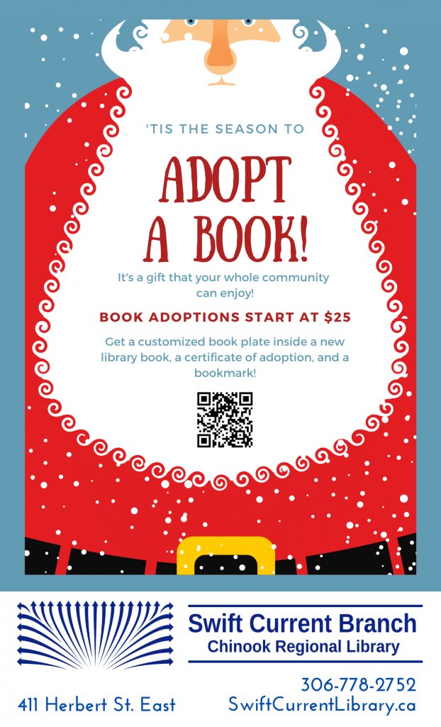 Swift Current Library Adopt a Book